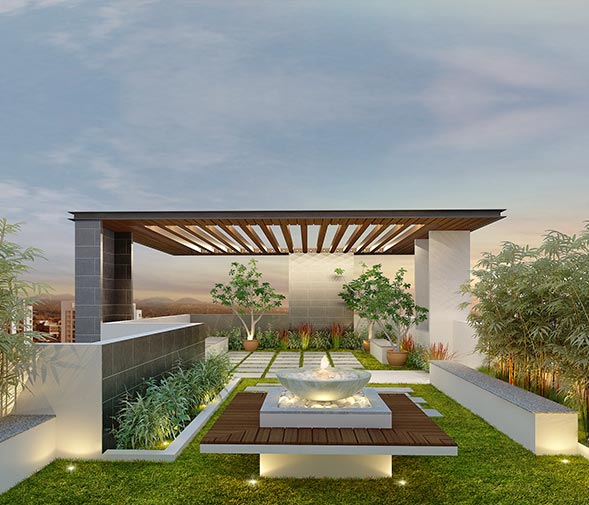 Garden Terrace Apartments: Luxury Apartments For Sale In Guindy : Residential
